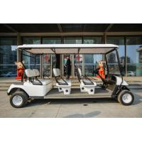 48V 4KW Electric Transport Cart / Electric Tourist Vehicles 6 Seats CE