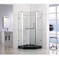 China Diamond Shape  Shower Door  with Frame RS-D090 on sale