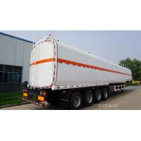 China carbon steel fuel tank semi trailer with stainless steel road tankers for sale wholesale
