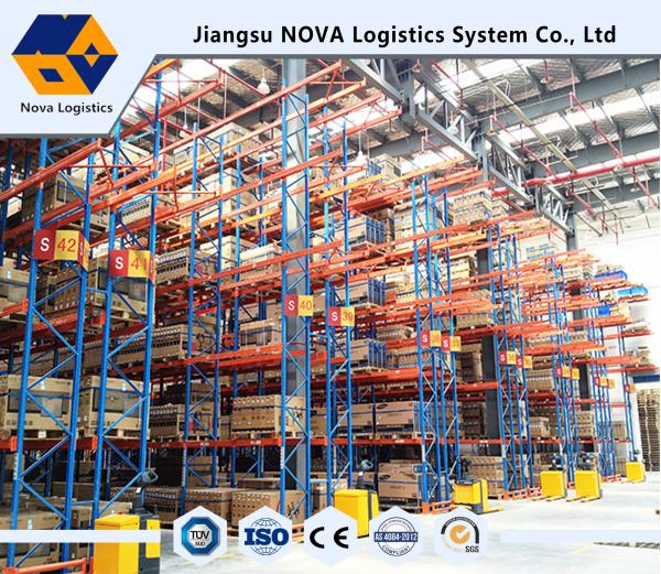 Quality Powder Coating Heavy Duty Loading Capacity Pallet Racking With Wide Range for sale