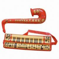 China Inflatable guitar, made of PVC plastic wholesale