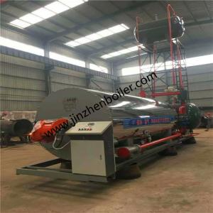 China Skid-mounted Type Thermal Heat Oil Thermal Fluid Heater Heat Conducting Oil Boiler For Dyeing And Printing wholesale
