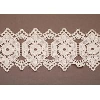 China Custom White Cotton Lace Clothing Trimmings Fabric Crafts Clothes Accessories wholesale