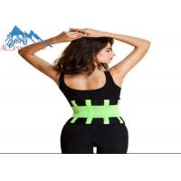 China Adjustable Waist Trimmer Belt Weight Loss Wrap Neoprene Material wholesale