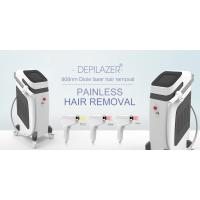 China Strong Cooling System 808nm Diode Laser Hair Removal Apparatus With Touch Control wholesale