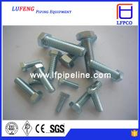 China Stainless steel 316 ASTM A193 B8M stud bolt nut/bolt wholesale