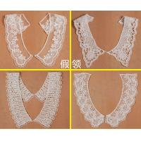 China chemical lace neck,collar,neckwear,water soluble embroidery neck,collar,neckwear on sale