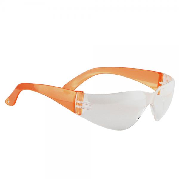 Quality Fashional cool design women safety glasses with colorful temple for sale