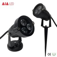 China IP65 round D95mm black exterior 3W LED garden lights for hotel wholesale