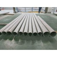 China Weld Titanium Seamless Pipe WT 0.5mm - 10mm For Fluid Transportation Piping on sale
