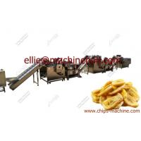 China Fully Automatic Banana Plantain Chips Production Line|High Quality Plantain Chips Making Machine wholesale