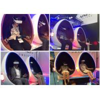 China 360 Degree Rotation Arcade Simulator 9D VR Cinema With Single / Double / Triple Outside Cabin wholesale