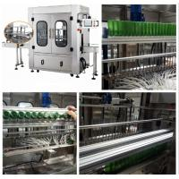 China Professional Automatic Bottle Washing Machine / Bottle Cleaning Machine wholesale
