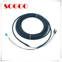 China 40m Optical Cable Assembly / DLC / DLC / GYFJH / 2 Core Outdoor Protected Branch Cable wholesale