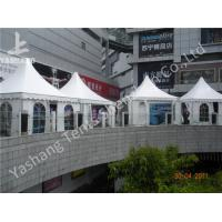 China White Square 5X5 M High Peak Tents Booth , High Peak Marquees Eco Friendly wholesale