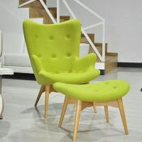 China European Style Furniture Replica Design Featherston Hotel Lounge Chairs with Wood Legs wholesale