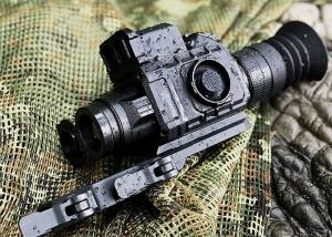 China 35mm 50mm Lens Thermal Night Vision Hunting Scope With OLED Display wholesale