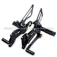 China EEC Certificated Motorcycle Rear Sets High Grade Billet Aluminum 0.55kg Weight on sale