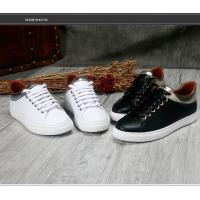 China Brand design popular Sneakers black women cowskin Lace Up lovers shoes soft-soled comfortable sneakers HC-105 on sale