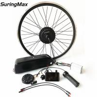China Front Hub Motor Wheel Assist Electric Ebike Kit 36V350W With Batteries on sale