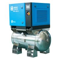 China Frequency Converter Two Stage Screw Compressor For Electronics And Meters on sale