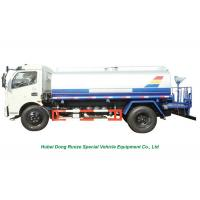 China Truck Mounted Stainless Steel Water Tank 6M3  With Water  Pump Sprinkler For Water Delivery and Spray LHD/RHD wholesale