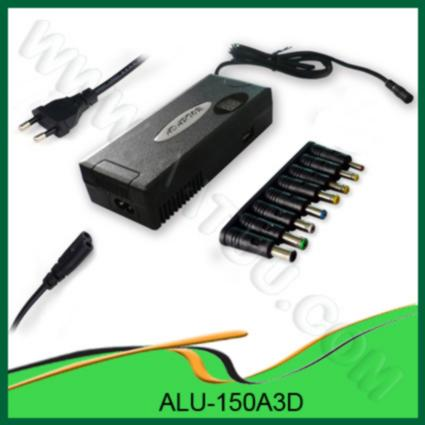 Quality 150W Multi functional Notebook DC Car Adapter  ALU-150A3D for sale