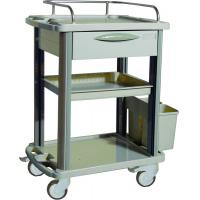 China Removable Plastic Medical Trolleys For Home / Clinic Ambulance wholesale