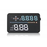 GPS Audi A3 Head Up Display , 3.5 Inch Windshield Speedometer Display PC ABC Material