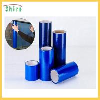 China Blue Color Window Protection Film Temporary Use Indoor Out Door wholesale