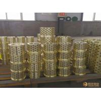 China Bushings Copper Casting Sleeve High Strength Brass Aluminum Bronze Industrial on sale