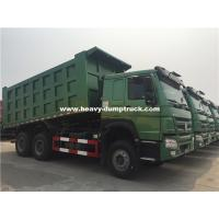 China 20m³ HOWO 6x4 371hp Dump Truck Installed With HYVA Brand Middle Lifting With High Lifting Capacity wholesale