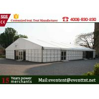China ABS Hard Wall A Frame Tent Customized 12 X 12m  Business Promotion European Style wholesale