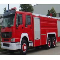 China Manual Transmission Type Fire Extinguisher Truck / Fire Fighting Vehicles 20.000 Liters wholesale