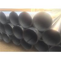 China API BS DIN Carbon Welded Line ERW Steel Pipe With Seam 1-12m Length wholesale