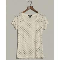 China Breathable Lovely Polka Dot Hemp Cotton Clothing For Women Comfortable wholesale