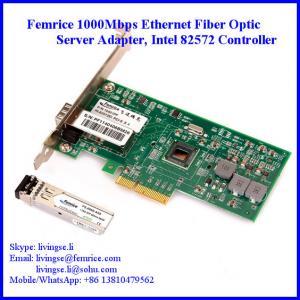 China 1000Mbps Single Port Server Adapter, Server Ethernet Network Card wholesale