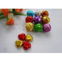 China 100% Food Safe Coloured Foil For Wrapping Chocolates 8011 Embossed Aluminum Foil wholesale