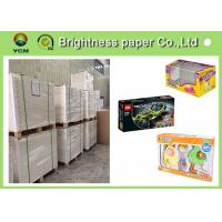 China Virgin Wood Pulp C1s Folding Box Board Coated Paper With Full Gsm wholesale