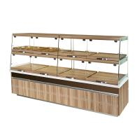 China High End Glass Bakery Display Cases Non Refrigerated Non Toxic Materials wholesale