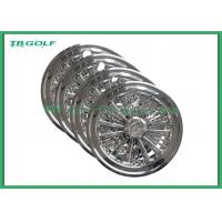 10 Golf Cart Hub Caps Golf Trolley Wheel Covers SS Design Customized Material