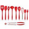 China 10PCS Premium Amazon Top Seller Cooking Set Heat-Resistant Flexible Kitchen Tools Gadgets Silicone Kitchen Utensil wholesale