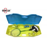 China Movable Tennis Badminton And Volleyball Set, Heavy Duty Badminton Set With Net wholesale