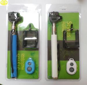 China Wireless Extendable Handheld Monopod Selfie Stick With Bluetooth Shutter wholesale