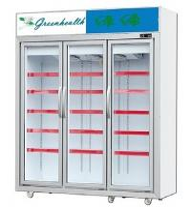 Buy cheap Affichage congelé par congélateur en verre droit de porte pour la viande congel from wholesalers