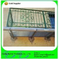 China simple wrought iron window grills for home safety on sale