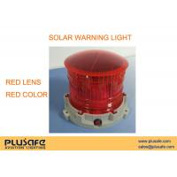 China Red Lens Airport Runway Lighting , Runway Edge Lights For Airfield Ground Lighting on sale