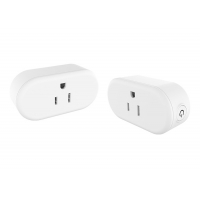 China 15A App Control Indoor 78*38*49mm IP20 Smart Power Outlet wholesale