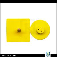 China TPU Material RFID Livestock Tags , Replacement Ear Tags For Diary Farm Pigs wholesale