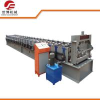 China Galvanized Steel Floor Deck Roll Forming Machine With Hydraulic Uncoiler Machine wholesale